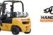 Forklift Hangcha 25 for rent!