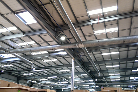 Wzmacnianie konstrukcji nośnej dachu hali produkcyjnej (ok. 8000m2)  Etap 1 – Plastic Omnium - Gliwice